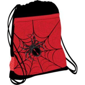 Tornazsák Belmil 21' Mini-Fit Spider Red and Black pókos 336-91 43x45cm hálós sportzsák Gym Bag