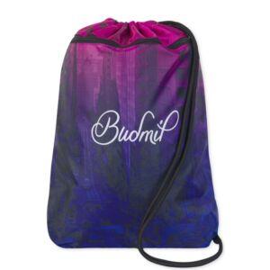 Tornazsák Budmil 21' fekete-rózsaszín-35x46cm Budmil kollekció-10150029