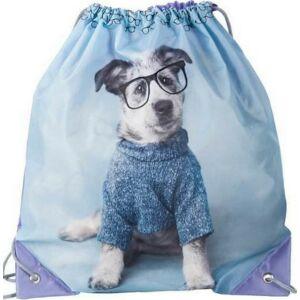 Tornazsák Paso Kutya 38x40 20g kutya szemüveges kék Új 2020-21-es kollekció Paso