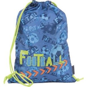 Tornazsák Pulse Blue Football 40x30x1cm PES kék Iskolaszerek Pulse 121297