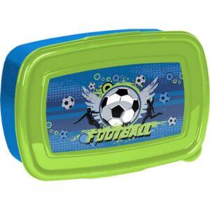 Uzsonnás doboz Paso kék-zöld focis Új 2020-21-es kollekció Paso