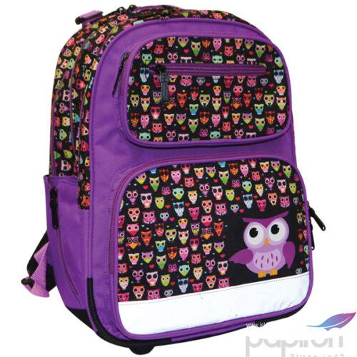 Iskolatáska ergonómikus KPP OWL / BAGOLY mérete: 280X410X170