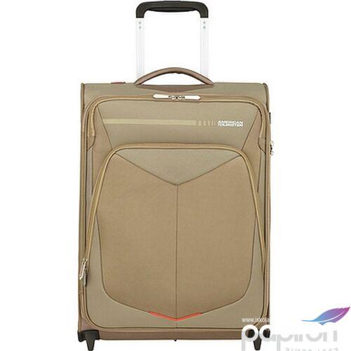 American Tourister kabinbőrönd Summerfunk upright 55/20 TSA 124887/1030 bézs, 2 kerekű, textil