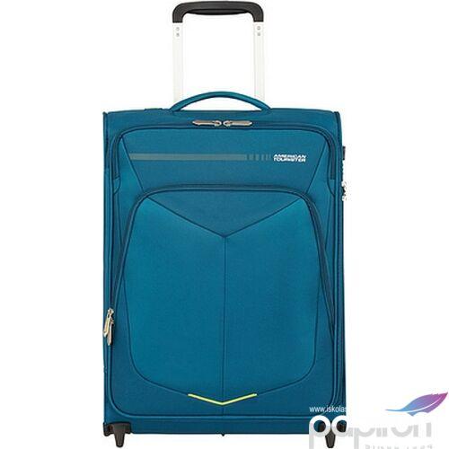 American Tourister kabinbőrönd Summerfunk upright 55/20 TSA 124887/2824 kékeszöld, 2 kerekű, textil