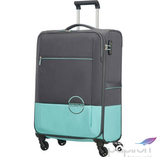 American Tourister bőrönd 68/2 Instago 44x68x27,5 66L 3kg 109793/7302 szürke/vízkék