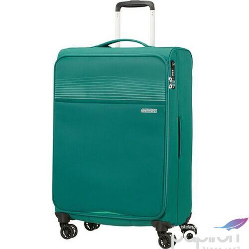 American Tourister bőrönd 69/2 Lite Ray 69/25 TSA 130172/1339 Erdő zöld, 4 kerekű, textil