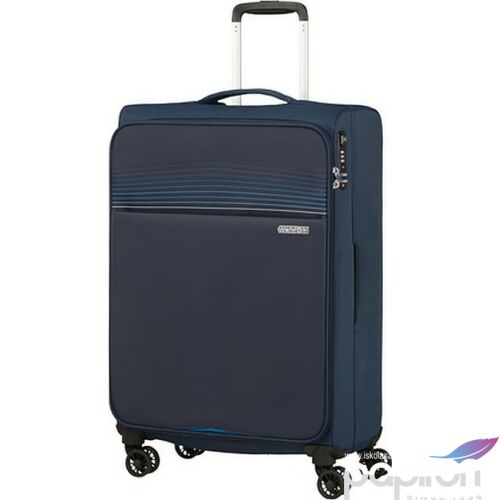 American Tourister bőrönd 69/2 Lite Ray 69/25 TSA 130172/1552 Midnight Navy, 4 kerekű, tex