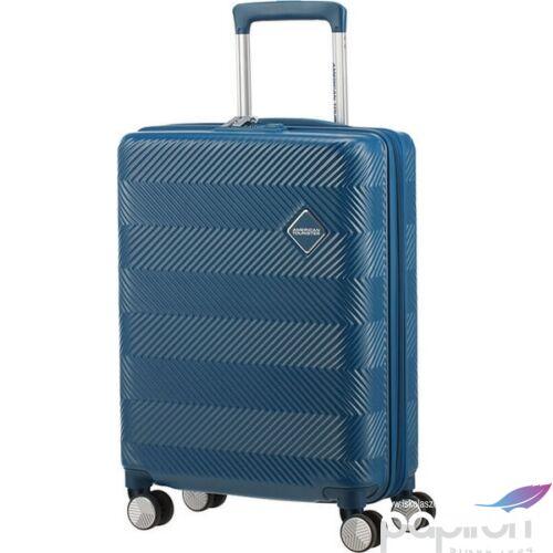 American Tourister bőrönd 77/2 Flylife 77/28 bővíthető bőrönd 125246/1686 Petrol Blue, 4 kerekű