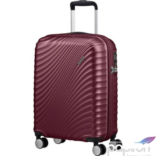 American Tourister bőrönd 77/2 Jetglam 77/28 bővíthető bőrönd 122818/8329 szőlő lila, 4 kerekű