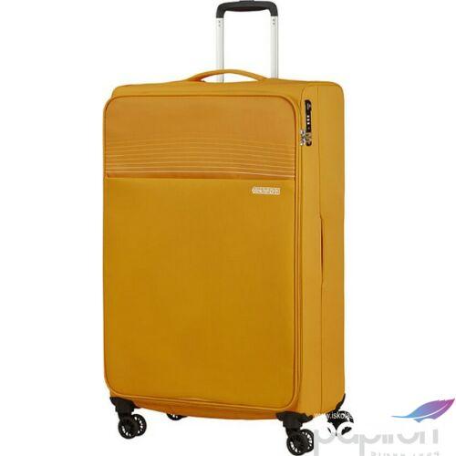 American Tourister bőrönd 81/3 Lite Ray 81/30 TSA 130173/1371 Arany sárga, 4 kerekű, texti