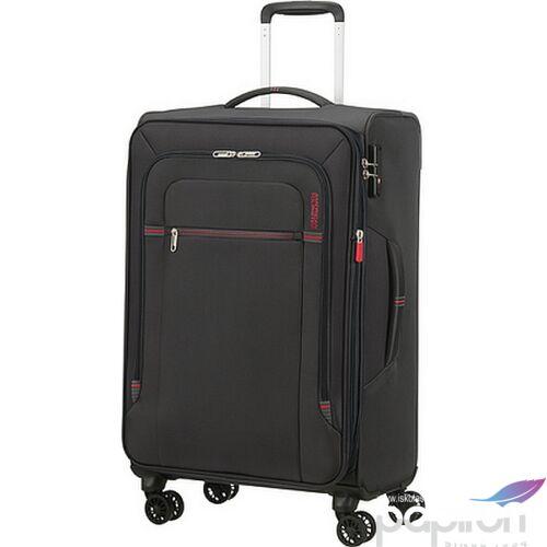 American Tourister bőrönd Crosstrack spinner 67/24 Tsa Exp 133190/2645 Grey/Red