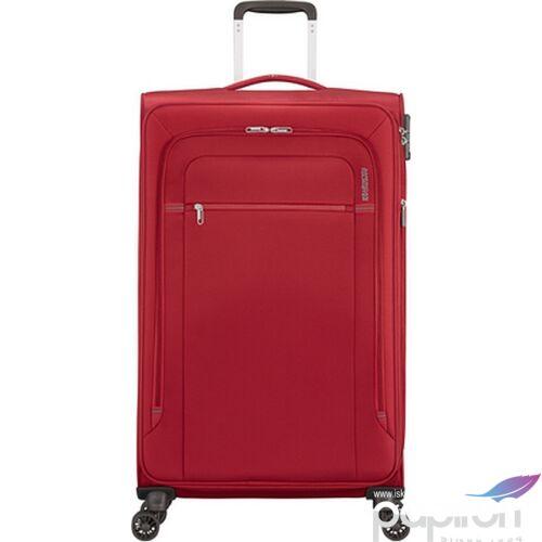 American Tourister bőrönd Crosstrack spinner 79/29 Tsa Exp 133191/1741 Red/Grey