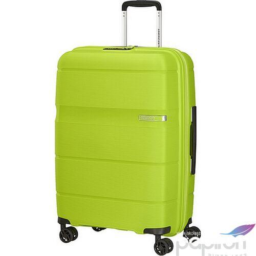 American Tourister bőrönd Linex spinner 66/24 Key Lime 128454/8425 Key Lime - 4 kerekű