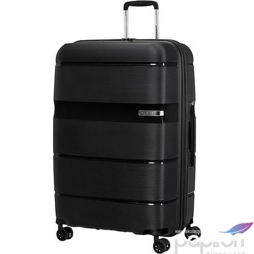 American Tourister bőrönd Linex spinner 76/28 Vivid Black 128455/1895 Vivid Black - 4 kerekű