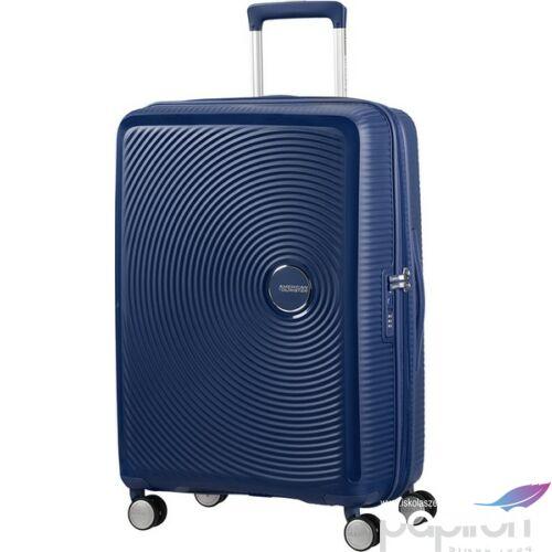 American Tourister bőrönd Soundbox 46,5x67x29/32cm 3,7kg 4kerekű 88473/1552 sötétkék