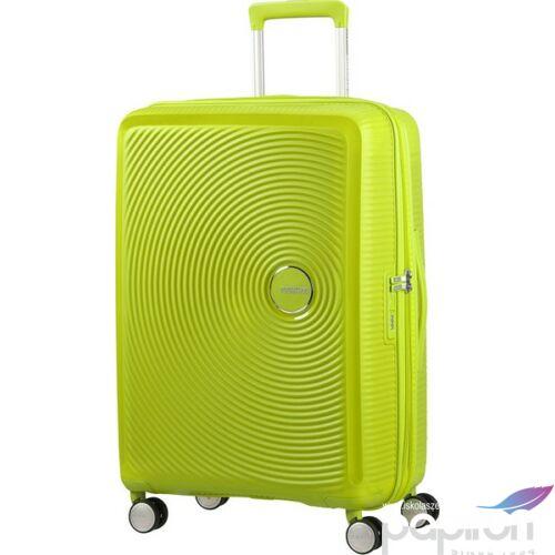 American Tourister bőrönd Soundbox 46,5x67x29/32cm 3,7kg 4kerekű 88473/6263 lime