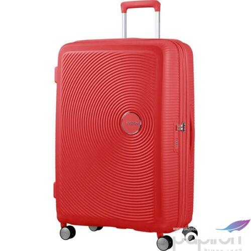 American Tourister bőrönd Soundbox 51x77x29/32cm 4,2kg 4kerekű 88474/1226 korall piros
