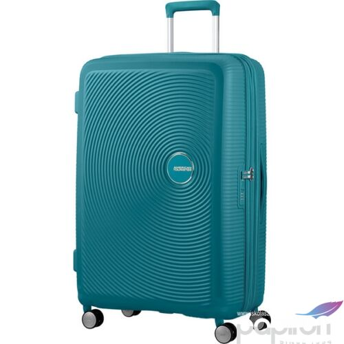American Tourister bőrönd Soundbox 51x77x29/32cm 4,2kg 4kerekű 88474/1457 Jade zöld