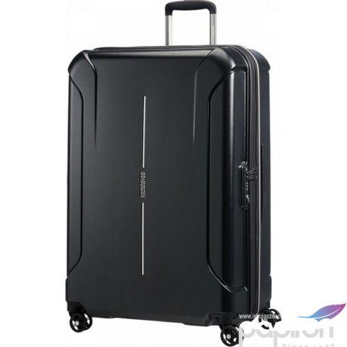 American Tourister bőrönd Technum 51x77x30/35cm 4kg 4kerekű 89304/2659 gyémántfekete