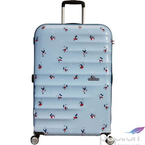 American Tourister bőrönd Wavebreaker Disney SPIN 77/28 85673/8695 Minnie Darling Blue