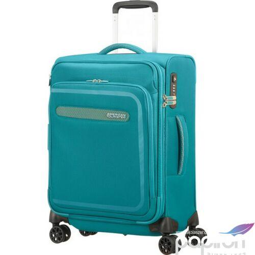 American Tourister kabinbőrönd Airbeat bővíthető 40x55x20 2,4kg 40/43l 55/20/23 102999/1809 égkék