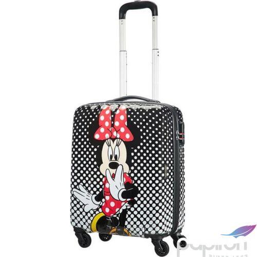 American Tourister kabinbőrönd ALPHA TWIST 2.0 Disney Legends 55/20 92699/4755 MinnieMouse PolkaDots pöttyös