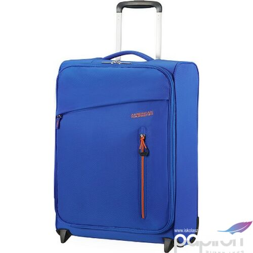 American Tourister kabinbőrönd Litewing 40x55x20cm 1,4kg 2kerekű 89456/5460 kék/narancs