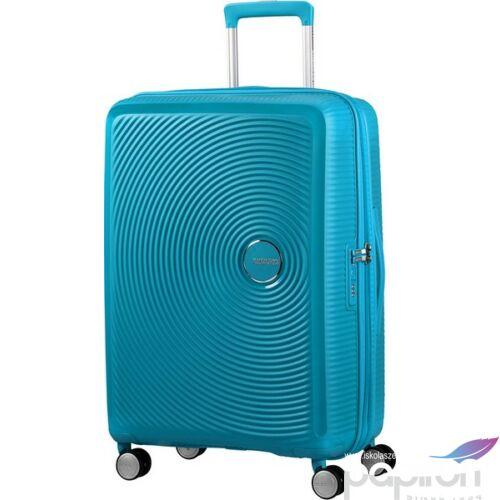 American Tourister kabinbőrönd Soundbox 40x55x20/23cm 2,6kg 4kerekű 88472/4497 türkiz