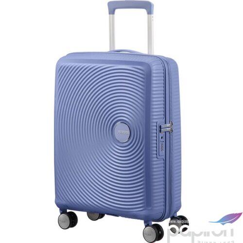 American Tourister kabinbőrönd Soundbox 40x55x20/23cm 2,6kg 4kerekű 88472/1292 farmer kék