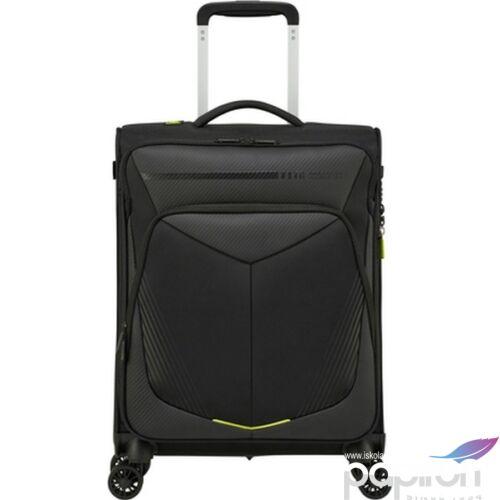 American Tourister kabinbőrönd Summerfunk SPIN 55/20 Exp Tsa Carbon 133510/1052 Black/Carbon