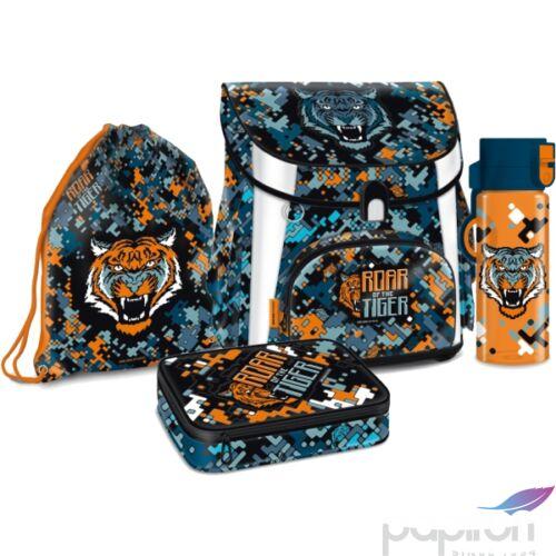 Iskolatáska szett Ars Una 20' Roar Of The Tiger- kollekció Kulacs, tornazsák