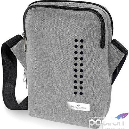 Faber-Castell válltáska FC-Válltáska Grip 2 zippes szürke prémium minőségű termék