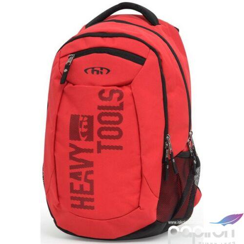 Hátizsák Heavy Tools EMATO 19 T17-757 48X30X21 30L ergonómikus háti Red piros