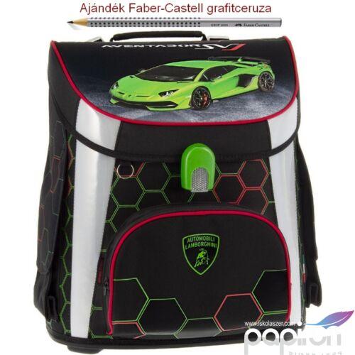 Iskolatáska Ars Una kompakt 20 Lamborghini - autós kompakt mágneszáras Prémium kollekció