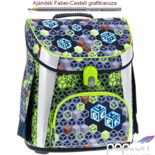 Iskolatáska Ars Una kompakt 21 Geek mágneszáras kompakt Easy Prémium kollekció