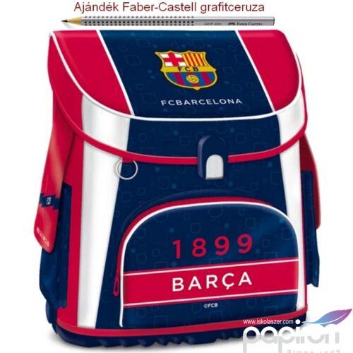 Iskolatáska Ars Una kompakt FC Barcelona - Focis 801 kompakt mágneszáras Prémium kollekció