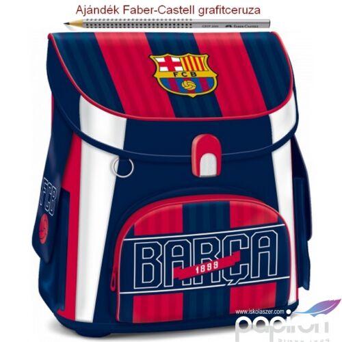 Iskolatáska Ars Una kompakt FC Barcelona - Focis kamaszoknak kompakt mágneszáras Prémium kollekció