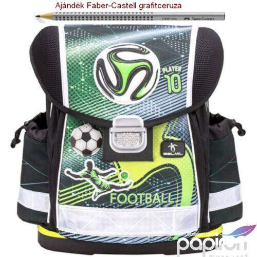 Iskolatáska Belmil ergonómikus 21' Classy anatómiai hátizsák Football P 403-13 36x32x19 kb. 19l - 900g