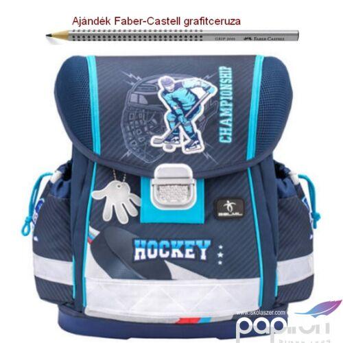 Iskolatáska Belmil ergonómikus 21' Classy anatómiai hátizsák Hockey 403-13 36x32x19 kb. 19l - 900g