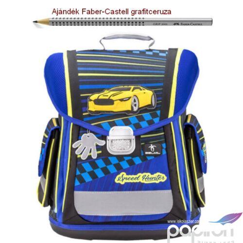 Iskolatáska Belmil ergonómikus 21' Sporty Speed Hunter 404-5 38x32x21cm kb. 22l - 950-1000g