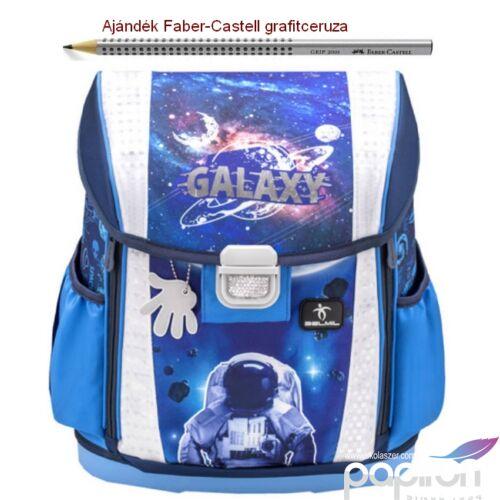 Iskolatáska Belmil ergonómikus Customize-Me Astronaut In Galaxy 404-20 37x31x17cm kb. 19l - 1060-1100g