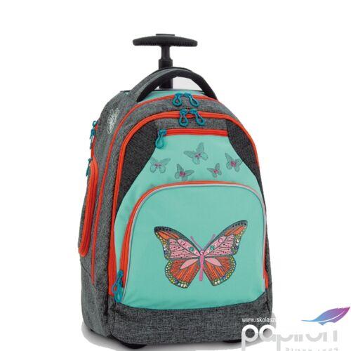 iskolatáska guruLós Pillangó Butterfly 19 Hátizsák kamaszokn Anatómiai - M hátizsák prémium minőség