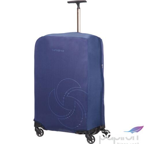 Samsonite bőröndhuzat M foldable Luggage cover 121224/1549 Éjkék