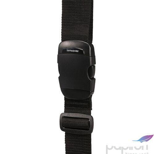 Samsonite bőröndszíj Luggage strap 50mm 121312/1041 Fekete