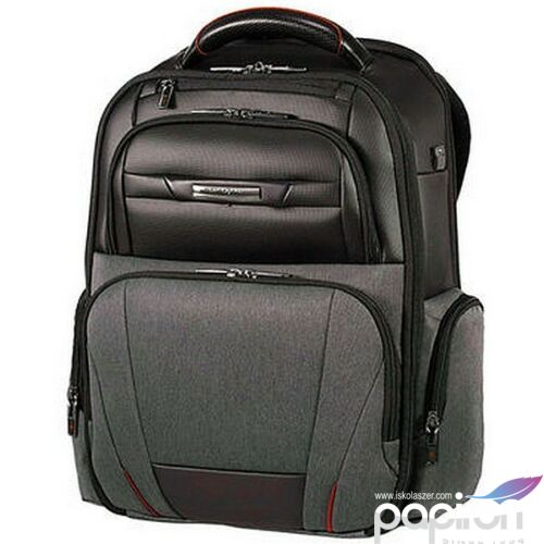 Samsonite laptopháti 15,6 PRO-DLX5 DUO backpack 116402/T229 Szürke Melanzs/Fekete