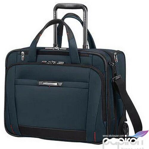 Samsonite laptoptáska 15,6 PEO-DLX rolling tote 106364/1647 Oxford Kék