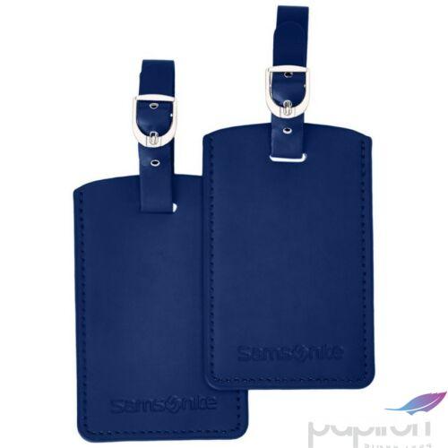 Samsonite bőröndcímke Travell Accessor. V - RECT. 52972/1439 indigókék