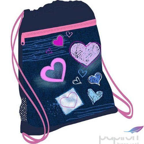 Tornazsák Belmil 20' Speedy Purple Love 336-91 43x45cm hálós sportzsák Gym Bag