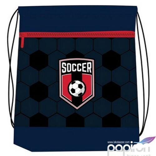 Tornazsák Belmil SOCCER GAME - focis 336-91 43x45cm hálós sportzsák Gym Bag