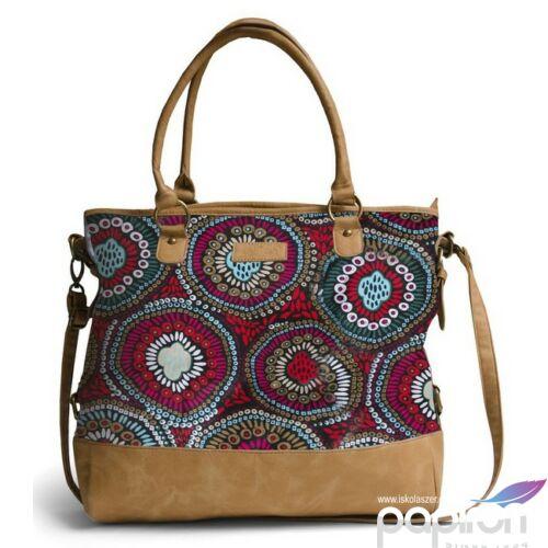 Oldaltáska Heavy Tools unisex EDERNE16 Colorful sokszínű női táska